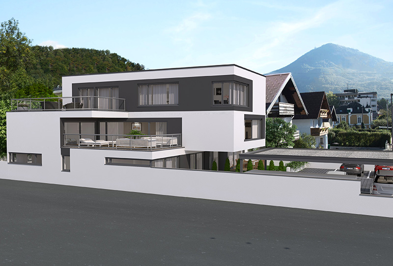 3D Architektur Visualisierungen