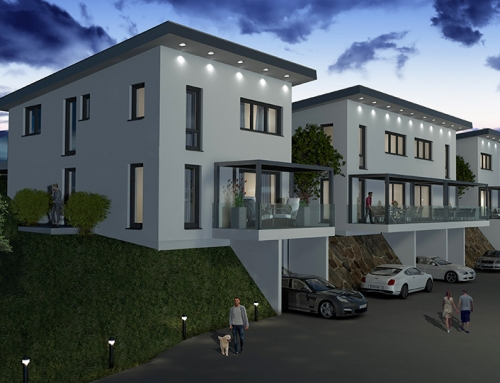 Architektur Rendering Degenweg