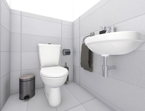 Innenraum visualisierung W-7 WC