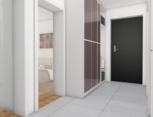 Innenraum visualisierung W-9 Vorraum