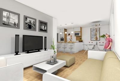 3D Innenraumvisualisierungen