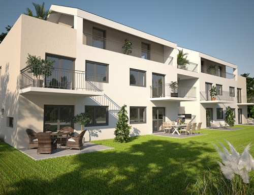 Architektur Rendering GreenHome