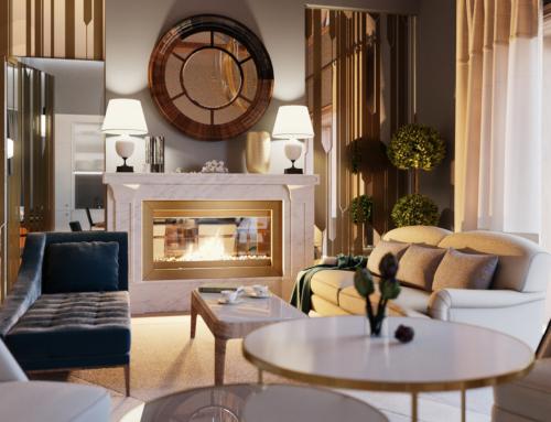 Innenraum Visualisierungen Wohnung Deluxe