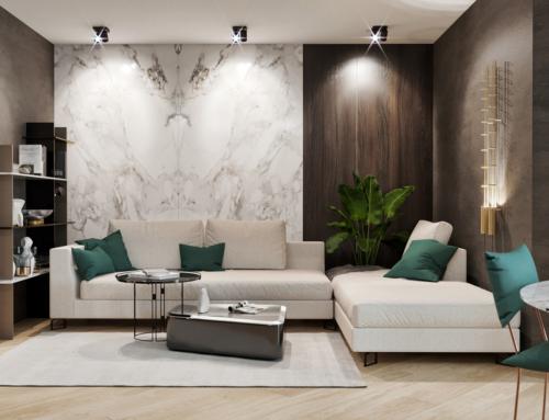 Innenraum Visualisierungen Wohnzimmer